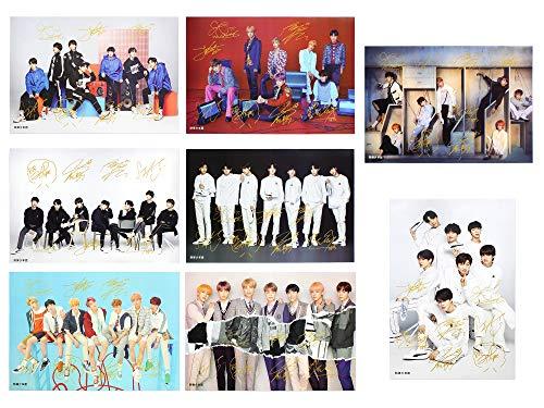 Fanstown Kpop BTS Bangtan Poster Set 16.5 x 11.7 inch A3 Size Thicken Coated Paper 8 pcs (003)