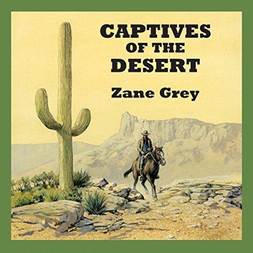 Captives of the Desert audiobook cover art