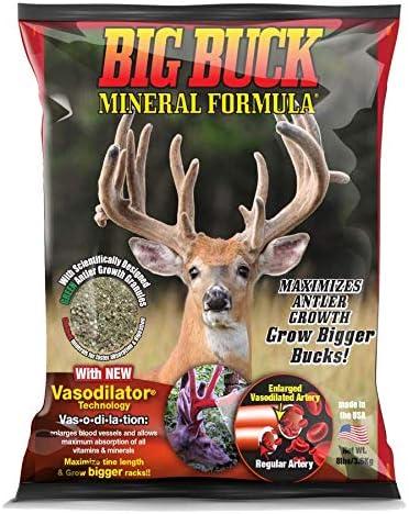 Extreme Hunting Solutions Big Buck Mineral Formula New Vasodilator Technology Maximizes Antler product image