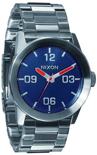 Nixon Private Reloj para Hombre Analógico de Cuarzo con Brazalete de Acero Inoxidable A276307