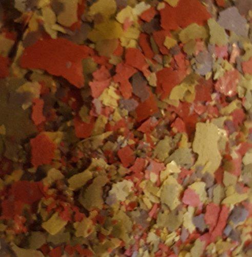 MIBO Flockenfutter 10.000 ml / 1700g Fischfutter in 2 x 5000 ml Siegelrandbeutel Fischfutter Aquarium Futter für alle Zierfische - 2