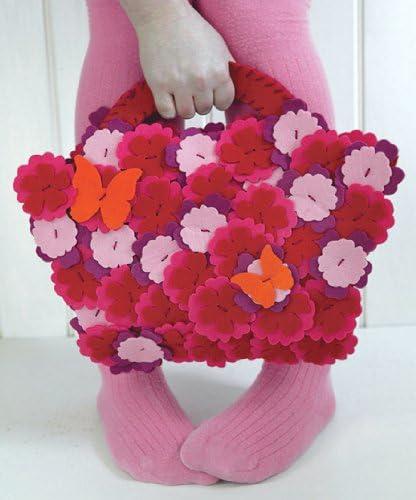 The Little Experience famous Stitch-it Boston Mall Handbag Flowery