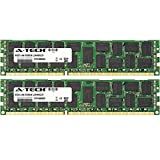 A-Tech 16GB KIT (2 x 8GB) for Dell Precision Workstation Series R5500 Rack T3600, T3610, T5600, T7600. DIMM DDR3 ECC Registered PC3-12800 1600MHz Dual Rank Server RAM Memory