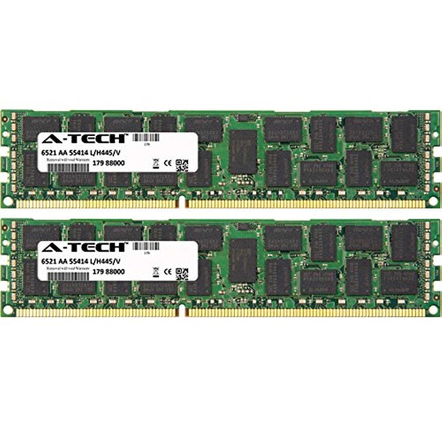 A-Tech 16GB KIT (2 x 8GB) for IBM-Lenovo System Series x3200 M3 (7328-xxx) (ECC Registered) x3250 M3 (4251-xxx) x3500 M4 x3550 M3 x3550 DIMM DDR3 ECC Registered PC3-8500 1066MHz Quad Rank RAM Memory