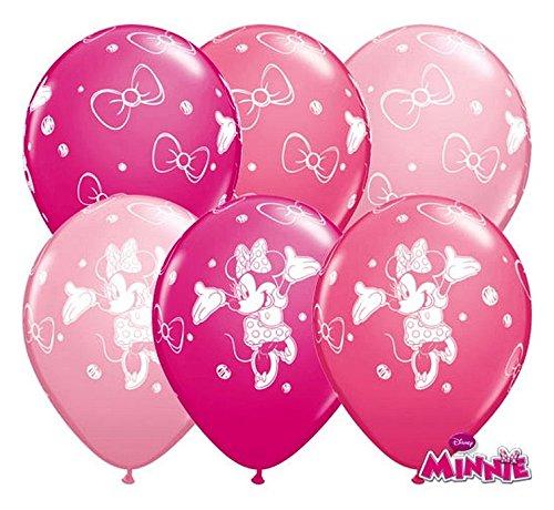 Partyklar 10 Luftballons Minnie Maus 26cm