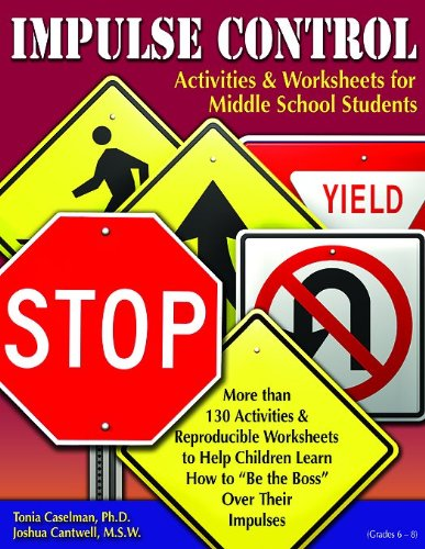 Impulse Control Activities & Worksheets for Middle School Students