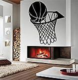 Calcomanía de pared baloncesto Kindergarten deportes Mural niño habitación arte patrón pared pegatina vinilo pegatina