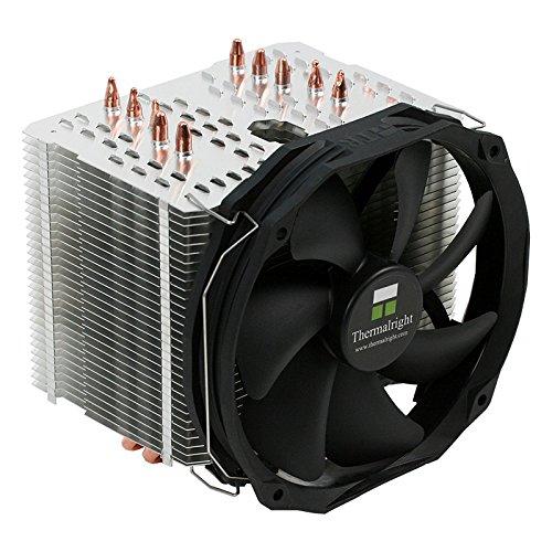 Thermalright Macho Direct, Heatpipe Direct Touch CPU-Kühler, Intel LGA1156/1155/2011/1150/2011-3/1151, AMD AM2/AM2+/AM3/FM1/FM2/FM2+, TY 140 Black (300-1.300 U/Min, 15-21 dB(a), 28,7-125 m³/h)