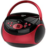 Best Cd Player Portables - Jaras JJ-Box89 Red/Black Sport Portable Stereo CD Player Review