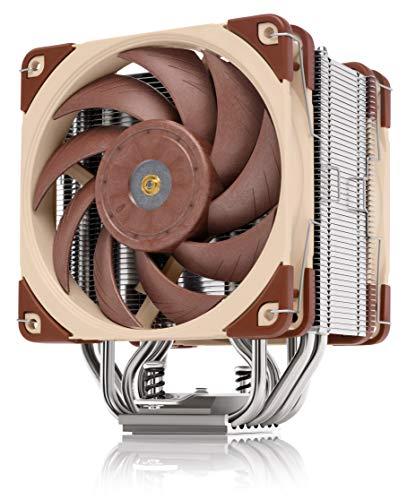 Noctua NH-U12A, CPU Kühler in Premium-Qualität mit leisen NF-A12x25 PWM Hochleistungslüftern (120mm, Braun)