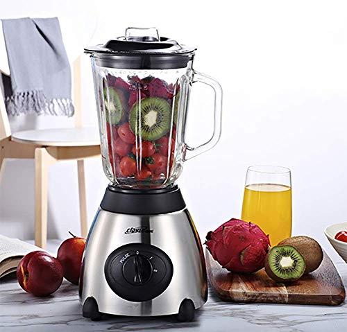 ALK Licuadoras para Verduras y Frutas, Extractor de Jugos Libre de BPA, con Base Antideslizante, 38000 RPM (1.5L, Mecánica)