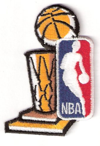 2002 NBA Finals Patch Los Angeles Lakers New Jersey Nets