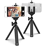 Xenvo LobsterPod Tripod - Flexible Cell Phone Tripod Stand with Universal Phone Mount Adapter, Compatible with iPhone, Android, Samsung, Google Pixel and Any Smartphone