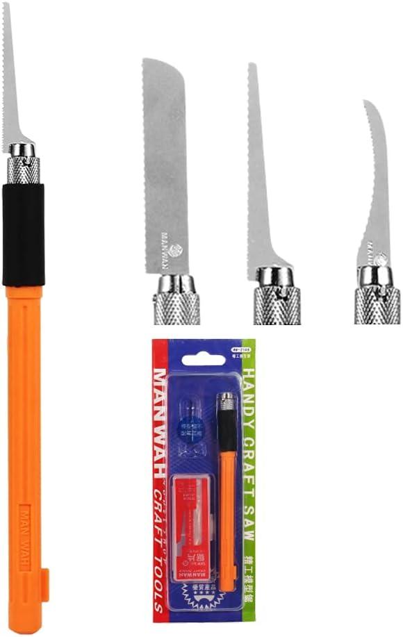 Dilwe Mini Hand Max Regular dealer 90% OFF Saw Model Tool Kit wit Hobby Razor Set