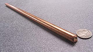 Unpolished Mill 1//4 Diameter Finish 145 Copper Round Rod 72 Length ASTM B301 H02 Temper