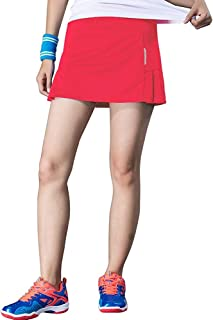 RainbowTree Women's Active Performance Skort Casual Pleated Skirt for Running Tennis Golf Workout
