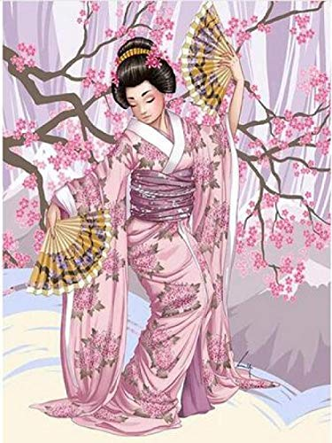 jzyjhc,Adult Jigsaw Puzzle,1000 Pieces Large Jigsaw Puzzle,Japanese Geisha,Fun Toy,Personality Gift