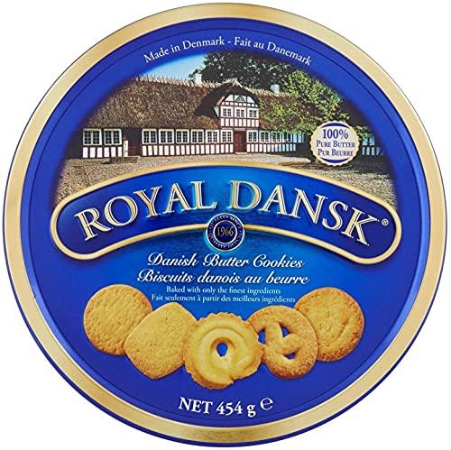 Royal Dansk Biscotti Danesi al Burro e Cocco Grattugiato - 1 x 454 Grammi