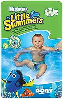 Huggies Little Swimmers Tamaño 3-4 7-15kg 12 por paquete