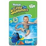 Huggies Little Swimmers - Pannolini per nuotare, misura 3-4, confezione da 12...