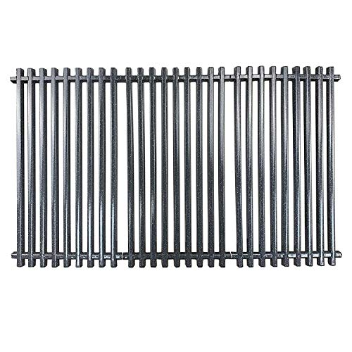 "Hisencn Cooking Grate Replacement for Charbroil 463436213, 463436214, 463436215, 463420508, 463420509, 463440109, 463441312, 463441514, 16 7/8"" Porcelain Steel Cooking Girds for Thermos 461442114"