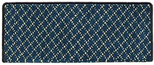 JIAJUAN Rectangle Stair Carpet Treads Non-Slip Thick Indoor Staircase Protectors Mats, 14mm, 5 Styles, 4 Sizes (Color : A ...