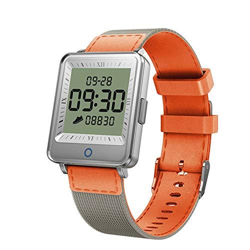 Smart Armband Herzfrequenz wasserdicht Schrittzähler Foto Schlaf Überwachung Großbild Sportuhr Zink-Legierung Rahmen Smart Hand kompatible Plattform BlackBerry, ios
