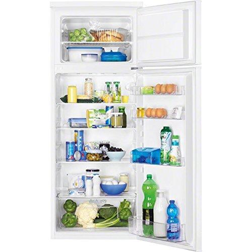Zanussi ZRT27101WA Autonome 265L A+ Blanc réfrigérateur-congélateur - Réfrigérateurs-congélateurs (265 L, SN-ST, 40 dB, 4 kg/24h, A+, Blanc)