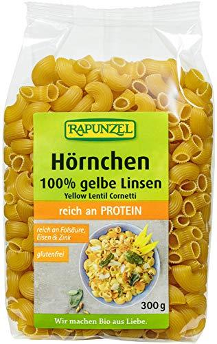 Rapunzel Bio Gelbe Linsen Hörnchen (6 x 300 gr)