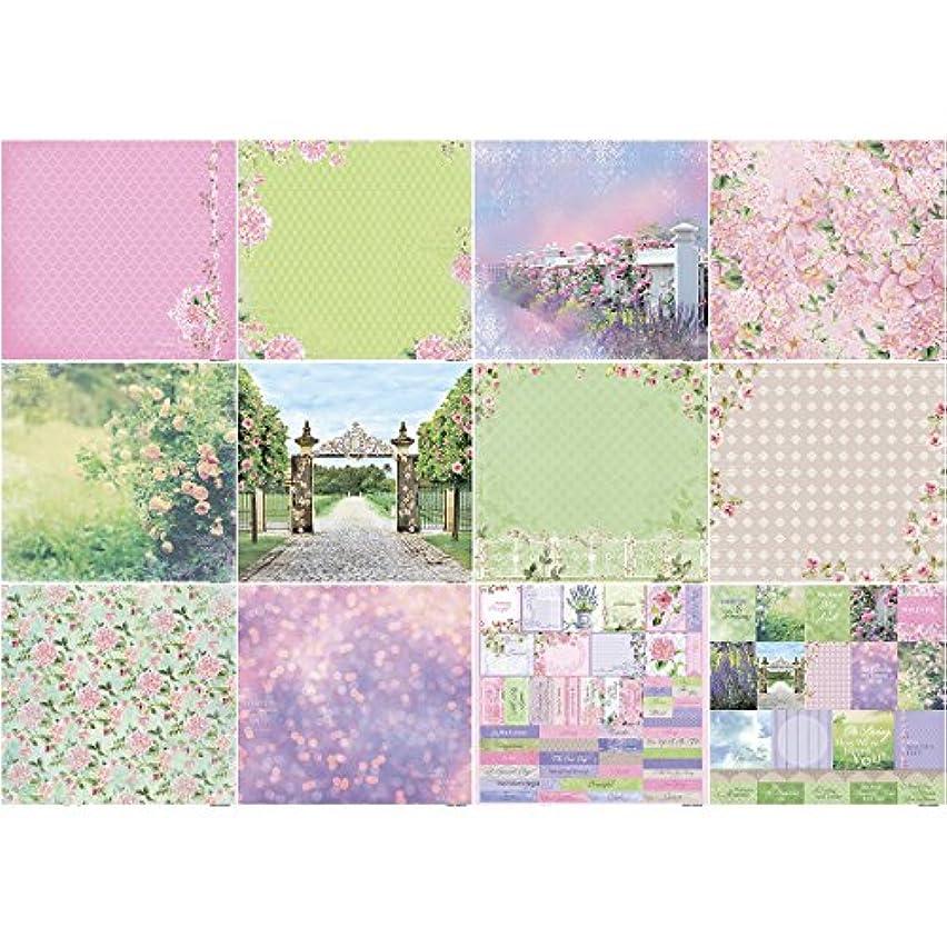 Scrapberry's In Bloom Paper Pack 12
