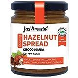 Creamy Hazelnut Spread (200g), 18% Protein, Plant-Based Nutrition, 80% Nuts, Zero Additives, Vegan, Dairy Free, 100% Natural
