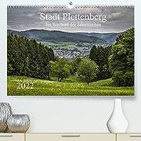 Stadt Plettenberg (Premium, hochwertiger DIN A2 Wandkalender 2022, Kunstdruck in Hochglanz): Stadt Plettenberg im Wechsel der Jahreszeiten (Monatskalender, 14 Seiten )