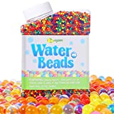 Bolas de Gel de Agua Colores, 50,000pcs Perlas Gel Decoración, Water Balls, Bolas Hidrogel para Plantas Flores Mezclados Cristalino Hidrogel Bolas de Agua Gelatina para El llenador del Florero