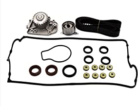 Timing Belt Water Pump Kit with Valve Cover Gasket fits for 1994 1995 1996 1997 1998 1999 2000 2001 Acura Integra GS-R Type R 1.8L 16V L4 GAS DOHC B18C1 B18C5