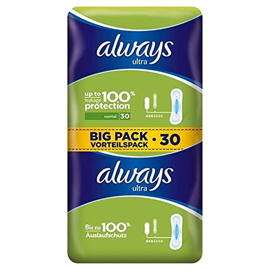 入植者永遠の職人Always Ultra Normal Sanitary Towels 2 x 15 per pack - 常に超正常な生理用ナプキン2×15パックあたり [並行輸入品]