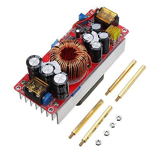 YUQIYU 1500W 30A High Power DC-DC Constant Voltage Constant Current Step-up Power Module Boost Converter 12V 24V 48V To 48V 60V 72V