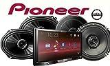 Pioneer MVH-300EX 7' Digital Multimedia Video Receiver, a Pair of Pioneer TS-G1645R 6-1/2' 2-Way & TS-G6845R 6'x8' 2-Way car Speakers and a SOTS Air Freshener