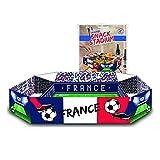 Original Snack Stadium | Fußballstadium Aperitif & Snack aus Pappe | Aperitif & Party Platte | Aperitif Platte | Stadium | Premium Qualität | Fußball Fan | Sport | Von OriginalCup®