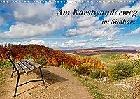Am Karstwanderweg im Suedharz (Wandkalender 2022 DIN A3 quer): Fotografien von Wanderungen am Karstwanderweg im Suedharz. (Monatskalender, 14 Seiten )