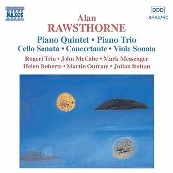 RAWSTHORNE: Piano Quintet / Piano Trio / Viola Sonata