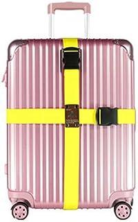 Manyo Ajustable Ceinture demballage Personnaliser Voyage Bagage Valise S/ûr Fermer /à cl/é Ceinture Sangle Lien de bagage #1