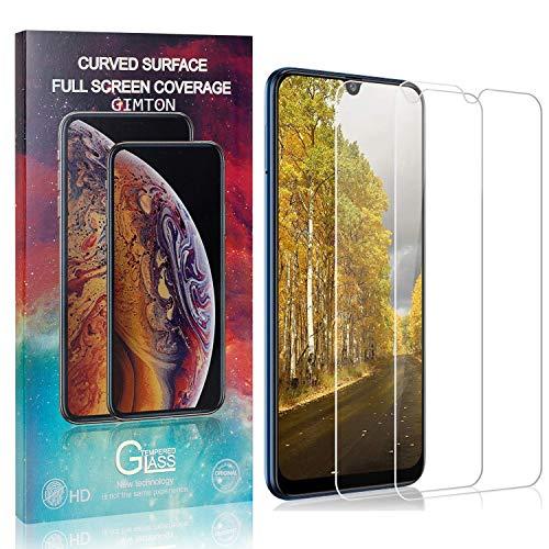 GIMTON Displayschutzfolie für Galaxy M31, 9H Härte Anti Fingerprint Displayschutz, Ultra Dünn Schutzfilm aus Gehärtetem Glas für Samsung Galaxy M31, 2 Stück