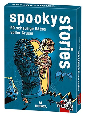 black stories junior - spooky stories: 50 schaurige Rätsel voller Grusel