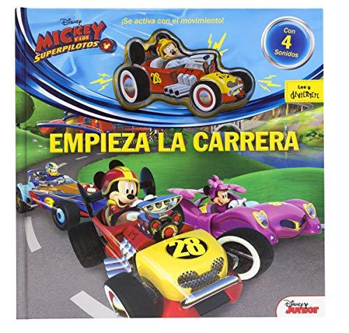 Mickey y los Superpilotos. Empieza la carrera: Cuento con coche con efectos de sonido (Disney. Mickey)