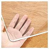 Mantel Transparente, Clear Table Plaza Pvc Tabla Impermeable Protector Rectángulo Rectángulo Resistente Al Calor Tabla De Mesa Tapa De Mesa Limpia Para Cocina, Comedo(Size:90×90cm,Color:Transparente)