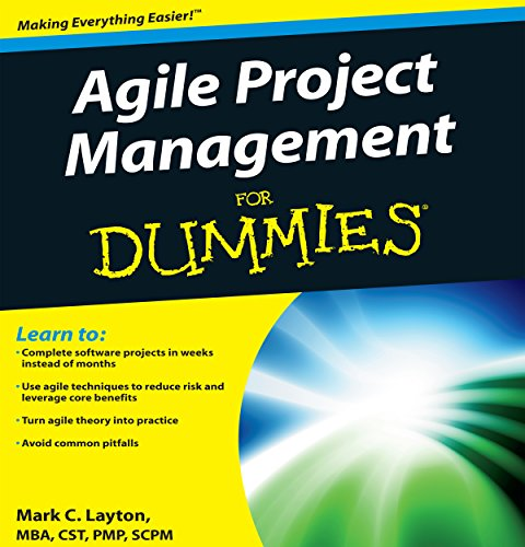 Page de couverture de Agile Project Management for Dummies