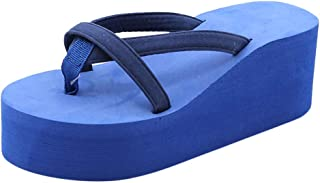 Wedge Flip Flops for Women Respctful? Fashion Platform Thong Sandal Summer Strappy Comfortable Slip On Flats