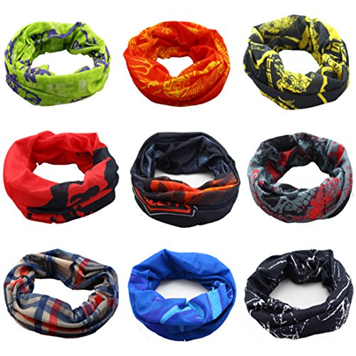 Preisvergleich Produktbild Zhengdu multifunktionaler Sportschal / Kopfband mit hoher Elastizität und UV-Beständigkeit