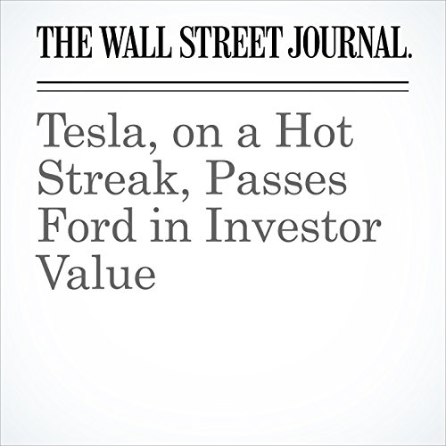 Tesla, on a Hot Streak, Passes Ford in Investor Value copertina