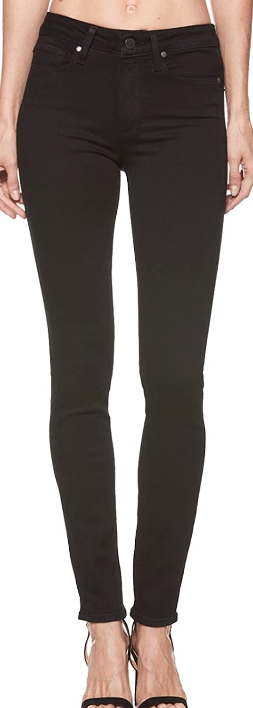 Paige Women's Jean Hoxton Ultra Skinny Black Shadow HIGH Rise Skinny Jeans 1563521 2139